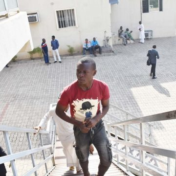 1,12A,1B,1C,1H, Balogun Damilola, Convicted by the FCT Chief Magistrate Court zone 6 Abuja, of Impersonating Afrinvest West Africa Plc and defrauding unsuspecting investors, arrested by Police Unit of Securities and Exchange Commission, Tuesday