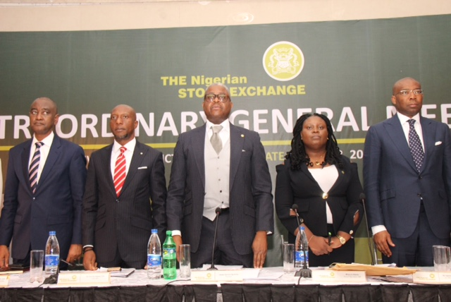 Photos: NSE during a Court Ordered Meeting (COM) and an Extraordinary General Meeting (EGM) at the Civic Center, Lagos