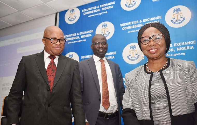 Inauguration Ceremony of Anti-Corruption, Transparency Unit and Monitoring Unit of SEC in Abuja