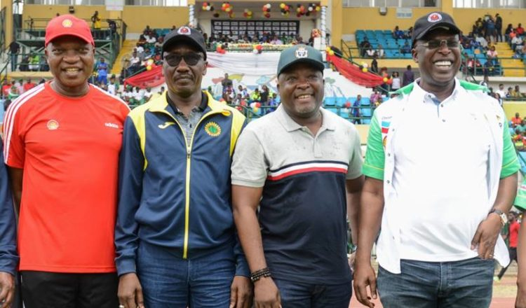 Photo: Opening Ceremony of The Finals of The 18th Edition of The Nigeria Oil and Gas Industry Games Held at The Teslim Balogun Stadium, Lagos.