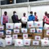 SUNU Group Donates ₦15 Million Medical Equipment and PPE to Lagos State Ministry of Health In Support Of COVID-19 Efforts