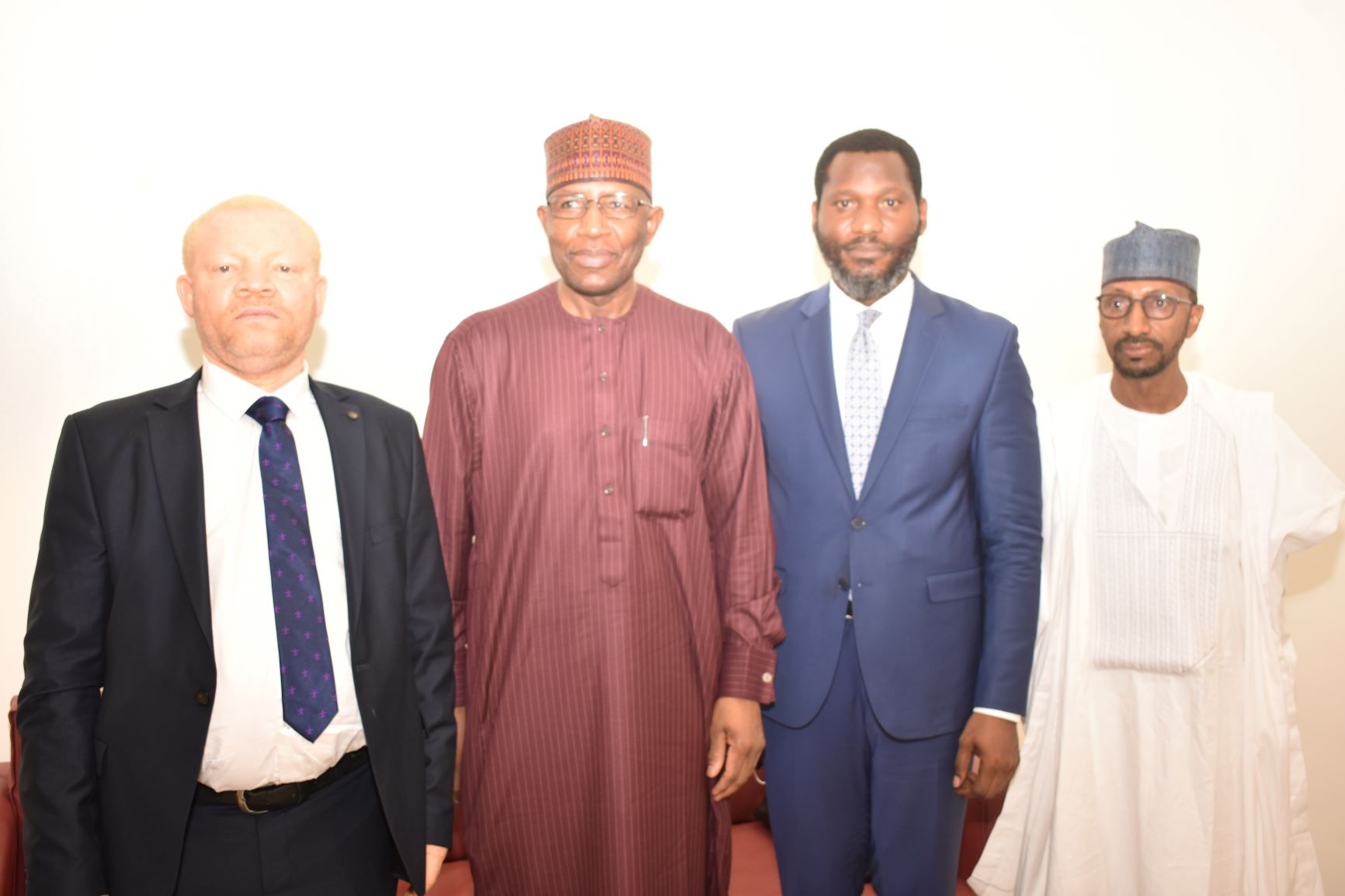 L-R,  Incoming Executive Commissioners,Securities and Exchange Commission, Mr Reginald Karawusa, Incoming Director General SEC Mr Lamido Yuguda,  Mr Temidayo Obisan and Mr Ibrahim Boyi during the Screening of Nominees of   Director General and Full Time Commissioners of SEC in Abuja yesterday